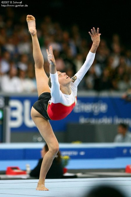 Marie-Sophie Hindermann (GER) at the 2007 Worlds