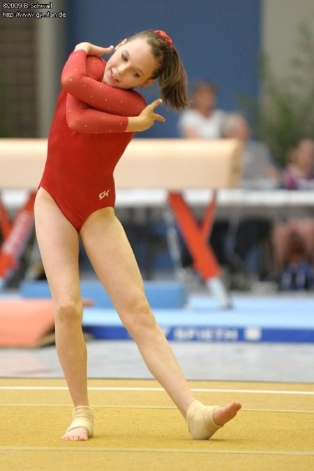 Isabell Marquard at the German Championships 2009 (3rd AA)