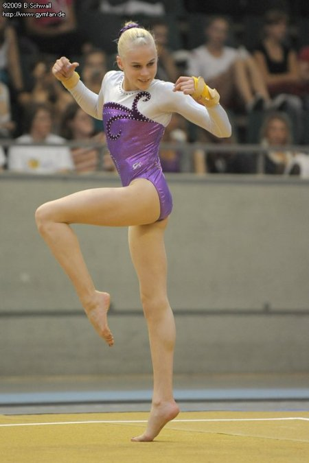 Pia Tolle at the German Championships 2009 (1st AA - junior/age class 15)